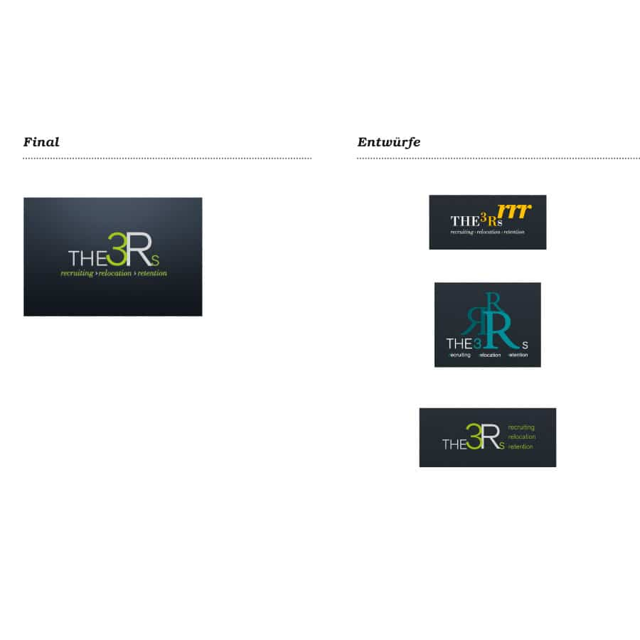 Logo Design The 3 Rs