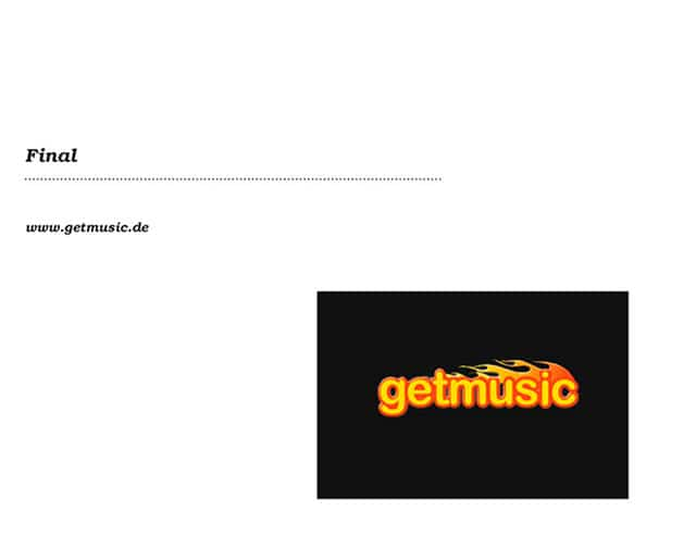 Logo Design getmusic