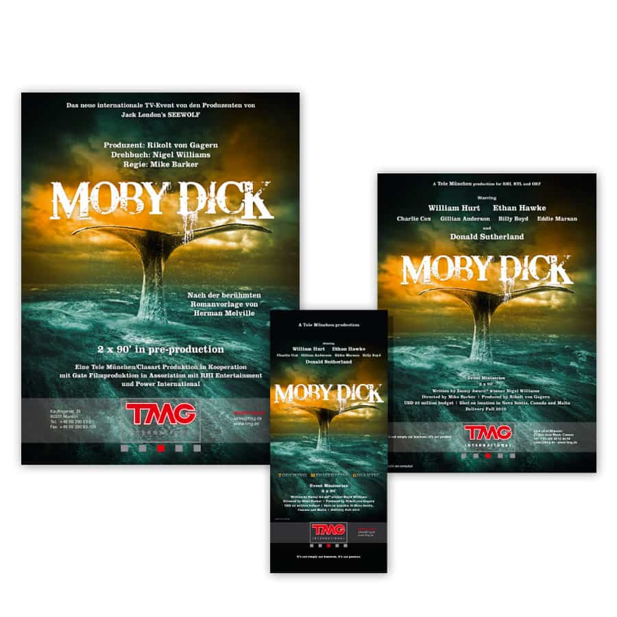 Design Artwork Moby Dick