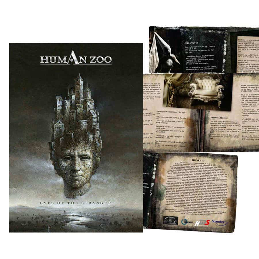Design CD Cover Human Zoo